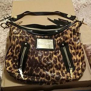 NWOT leopard betsyville bag